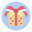 gift, package, parcel, present, reward, surprise icon