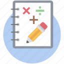 accounting, bookkeeping, business, calculation, mathematics icon