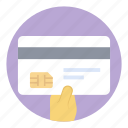 atm card, credit card, debit card, payment card, smart card icon
