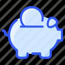 bank, coin, money, piggy, saving