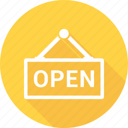 open, shop, store icon