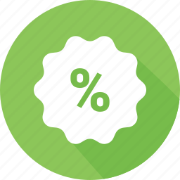 badge, percentage, promotion, sale icon