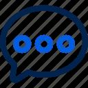 ecommerce, chat, bubble, talk, message, conversation