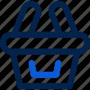 ecommerce, shopping, basket, shop, store, market, buy