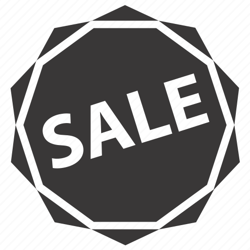 badge, label, sale icon
