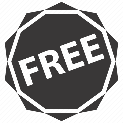 discount, free, label icon