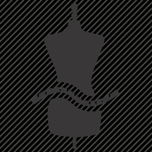 clothing size, size guide, sizing icon