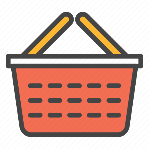 basket, buying, cart, grocery, market, purchase, shopping icon