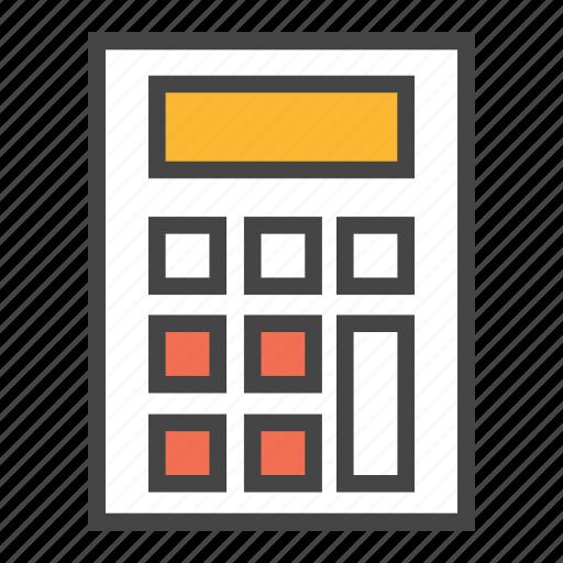 account, calculate, calculator, finance, mathcaluclator, money icon