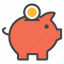 box, budget, business, deposite, piggybank, save moeny icon