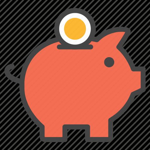 box, budget, business, deposite, piggybank, save moeny icon