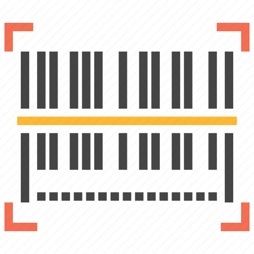barcode, code, scan, scanner icon