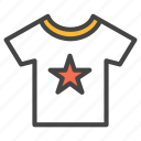 cloth, clothes, clothing, men, shirt, t, t-shirt icon