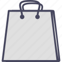 e commerce, shopping, shopping bag, store icon