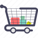 buying and selling, payment, shopping cart icon