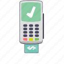 buying and selling, card, credit card, debit card, point of sale, pos, shopping icon