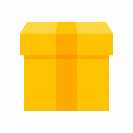 box, delivery, gift, present icon