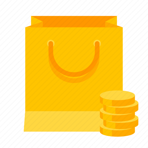 bag, cart, money, pay, shopping icon