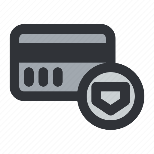 card, ecommerce, payment, secure, shield icon