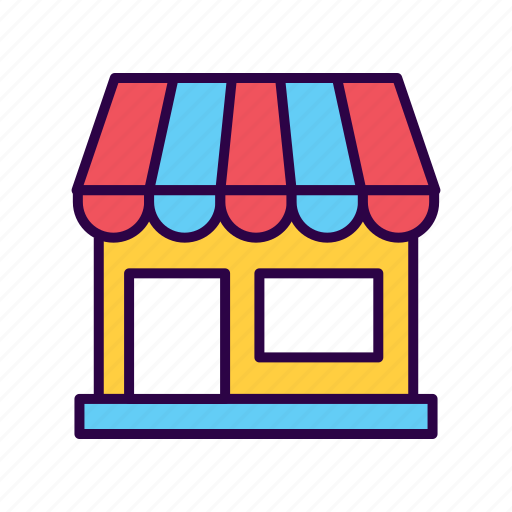 building, commerce, market, purchase, shop, shopping icon