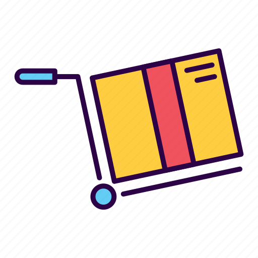 box, commerce, delivery, logistics, package, post icon