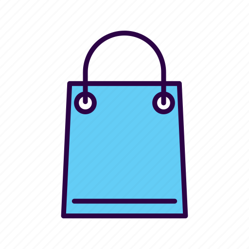 bag, buy, commerce, plastic, purchase, shopping, tote icon