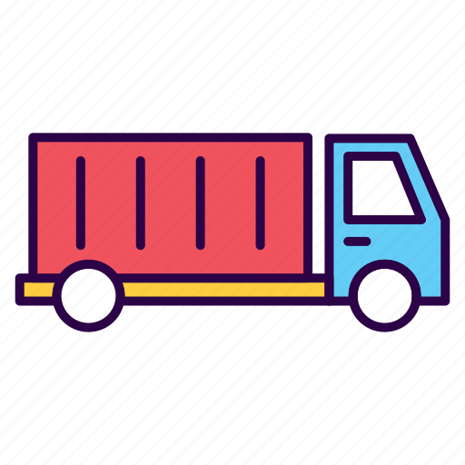 business, car, commerce, delivery, logistics, truck, vehicle icon