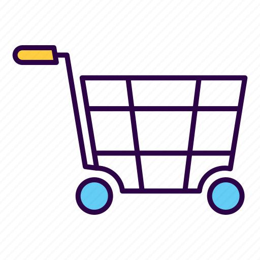 cart, commerce, economy, mall, purchase, shopping, trolley icon