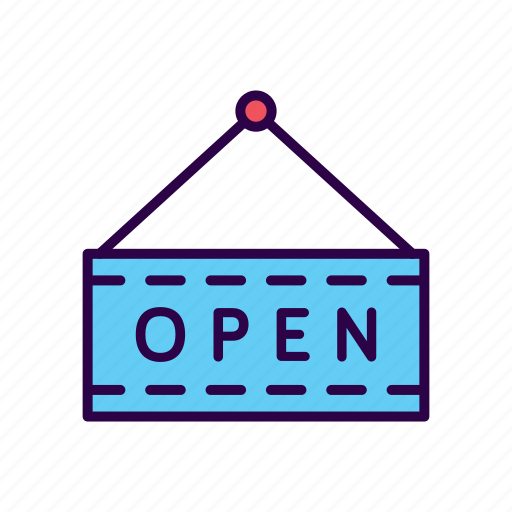 Close, commerce, open, shop, shopping, sign icon - Download on Iconfinder