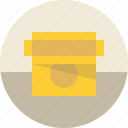 box, cardboard, container, crate, delivery, empty, open, package, packaging, shipping icon