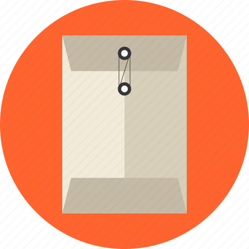 confidential, correspondence, courier, documents, envelope, express, folder, mail, package, papers, sealed icon