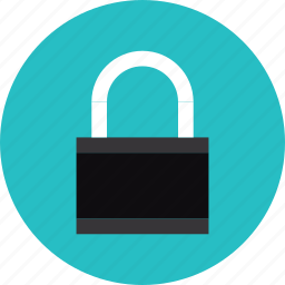 lock, padlock, protect, protection, safe, safety, secure, security icon