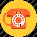 communication, contact, hotline, phone, retro, support, telephone