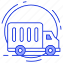 cargo, cargo services, delivery van, quick delivery, shipment, shipping truck icon