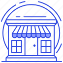 commerce, department store, outlet, retail shop, shop, store icon