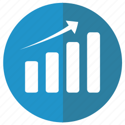 analytic, business, chart, diagram, ecommerce, finance, graph, histogram, infochart, infographic, information, line, management, manager, optimisation, presentation, progress, report, result, rising, static, statistics icon