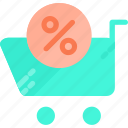 buy, cart, discount, fashion, give, shop, shopping icon