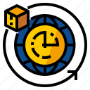 clock, service, time, shipping