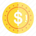 bill, cash, check, coin, money, pay, payment icon