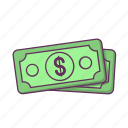 bussines, cash, currency, dollar, earning, money, payment icon
