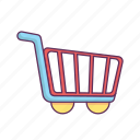buy, chart, checkout, ecommerce, purchase, shopping, trolley icon