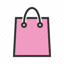 bag, gift, pack, package, packet, paper, shopping icon