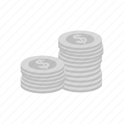 cash, coin, dollar, heap, jackpot, money, stack icon