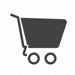 basket, cart, empty, items, shopping, trolley icon