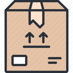 box, crate, delivery, ecommerce, shopping icon