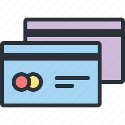 cards, credit, ecommerce, money, online, payment, shopping icon