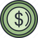 currency, dollar, ecommerce, money, shopping icon