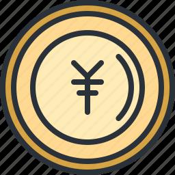 currency, ecommerce, japanese, money, shopping, yen icon