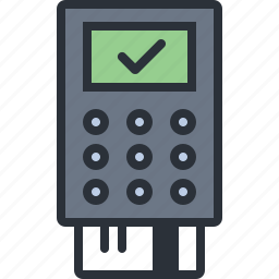 card, ecommerce, payment, pos, shopping icon