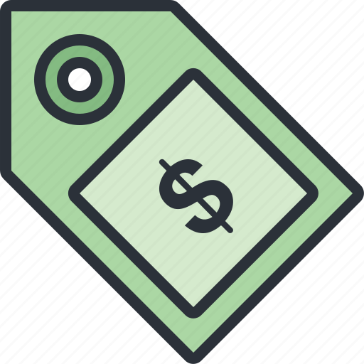 ecommerce, money, price, shopping, tag icon